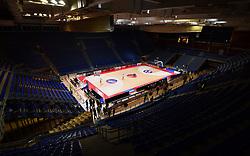 Arena prior to the basketball match between KK Crvena Zvezda (SRB) and KK Primorska (SLO) in 1st league of ABA League 2019/20, on October 6, 2019 in Belgrade, Serbia. Photo by Nebojsa Parausic / Sportida
