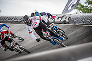 #164 (ISIDORE Quillan) GBR at Round 6 of the 2019 UCI BMX Supercross World Cup in Saint-Quentin-En-Yvelines, France