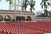 Seating at Pearson Park Theatre Pearson Park Amphitheatre