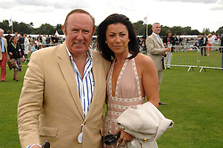 ANDREW NEIL and CAROLINE ?at the Cartier International polo at Guards Polo Club, Windsor Great Park on 29th July 2007.<br /><br />NON EXCLUSIVE - WORLD RIGHTS