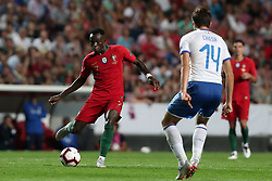 September 10, 2018 - Lisbon, Portugal - Portugal's forward Bruma (L) vies with Italy's forward Federico Chiesa during the UEFA Nations League A group 3 football match Portugal vs Italy at the Luz stadium in Lisbon, Portugal on September 10, 2018. (Credit Image: © Pedro Fiuza/NurPhoto/ZUMA Press)