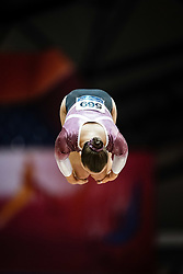 October 28, 2018 - Doha, Quatar - Sofia Bjoernholdt of Denmark   during  Vault qualification at the Aspire Dome in Doha, Qatar, Artistic FIG Gymnastics World Championships on 28 of October 2018. (Credit Image: © Ulrik Pedersen/NurPhoto via ZUMA Press)