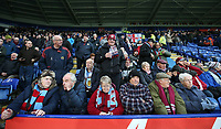 Burnley fans enjoy the pre-match atmosphere <br /> <br /> Photographer Stephen White/CameraSport<br /> <br /> The Premier League - Leicester City v Burnley - Saturday 2nd December 2017 - King Power Stadium - Leicester<br /> <br /> World Copyright © 2017 CameraSport. All rights reserved. 43 Linden Ave. Countesthorpe. Leicester. England. LE8 5PG - Tel: +44 (0) 116 277 4147 - admin@camerasport.com - www.camerasport.com<br /> <br /> Photographer Stephen White/CameraSport<br /> <br /> The Premier League - Leicester City v Burnley - Saturday 2nd December 2017 - King Power Stadium - Leicester<br /> <br /> World Copyright © 2017 CameraSport. All rights reserved. 43 Linden Ave. Countesthorpe. Leicester. England. LE8 5PG - Tel: +44 (0) 116 277 4147 - admin@camerasport.com - www.camerasport.com