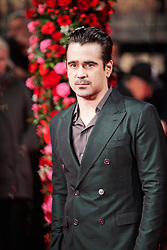 © Licensed to London News Pictures. 13/02/2014. London, UK. Colin Farrell as he attends during A New York Winter's Tale premiere outside the Odeon Kensington. Photo credit : Andrea Baldo/LNP