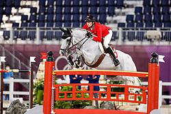 Fuchs Martin, SUI, Clooney 51, 382<br /> Olympic Games Tokyo 2021<br /> © Hippo Foto - Stefan Lafrentz<br /> 04/08/2021