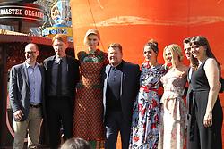 Peter Rabbit Premiere - Los Angeles. 03 Feb 2018 Pictured: James Cordon, Rose Byrne, Elizabeth Debicki, Margot Robbie. Photo credit: Jaxon / MEGA TheMegaAgency.com +1 888 505 6342