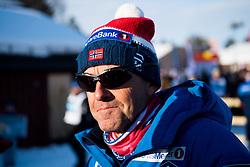 April 5, 2018 - Alta, NORWAY - 180405 Arild Monsen, coach, after the Men's Team Sprint final during the Norwegian Championship on April 5, 2018 in Alta..Photo: Jon Olav Nesvold / BILDBYRN / kod JE / 160234 (Credit Image: © Jon Olav Nesvold/Bildbyran via ZUMA Press)