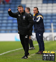 Oldham Athletic manager Stephen Robinson shouts instructions - Mandatory by-line: Matt McNulty/JMP - 03/09/2016 - FOOTBALL - Sportsdirect.com Park - Oldham, England - Oldham Athletic v Shrewsbury Town - Sky Bet League One