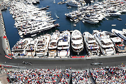 May 28, 2017 - Monte Carlo, Monaco - Motorsports: FIA Formula One World Championship 2017, Grand Prix of Monaco, .#44 Lewis Hamilton (GBR, Mercedes AMG Petronas F1 Team), #8 Romain Grosjean (FRA, Haas F1 Team) (Credit Image: © Hoch Zwei via ZUMA Wire)