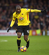 Watford's Stafano Okaka in action during the Premier League match at Vicarage Road Stadium, London. Picture date December 10th, 2016 Pic David Klein/Sportimage