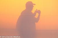 Sunrise in Antwerp, Belgium from the MV Explorer