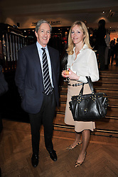 NICK ATTENBOROUGH and HANNAH WALKER Channel 4 Racing's public relations officer at a party to celebrate the paperback publication of Lucky Break by leading trainer Paul Nicholls held at Thomas Pink, 85 Jermyn Street, London on 23rd February 2011.