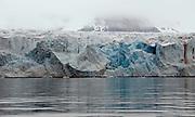 A mighty glacier at 14.Julibukta at western Spitsbergen, Svalbard.  June 2008.
