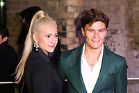 Pixie Lott, Oliver Cheshire, The Naked Heart Foundation's Fabulous Fund Fair, The Roundhouse, London UK, 20 February 2018, Photo by Richard Goldschmidt
