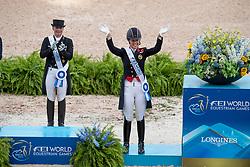 Dujardin Charlotte, GBR, Mount St John Freestyle<br /> World Equestrian Games - Tryon 2018<br /> © Hippo Foto - Dirk Caremans<br /> 14/09/2018