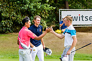 21-07-2018 Pictures of the final day of the Zwitserleven Dutch Junior Open at the Toxandria Golf Club in The Netherlands.21-07-2018 Pictures of the final day of the Zwitserleven Dutch Junior Open at the Toxandria Golf Club in The Netherlands.  KAEWKANJANA, Sadom (TH) is congratulated by BRUCE, Callum (Scotland)
