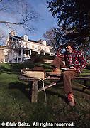 Mill Grove, home of John James Audubon, Audubon Society office, Montgomery Co., PA