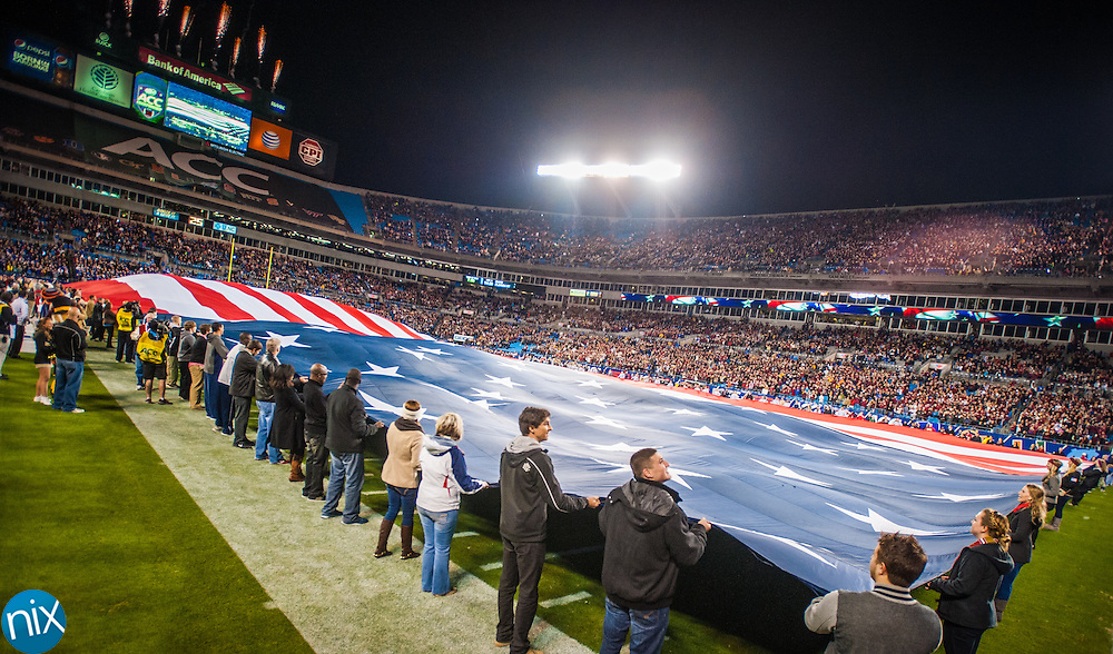 Florida State against Duke during the ACC Championship game at Bank of America Stadium in Charlotte Saturday night. Florida State won the game 45-7.