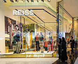 Reiss fashion  shop in Dubai Mall Dubai United Arab Emirates