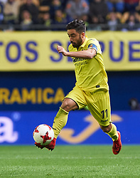 November 30, 2017 - Vila-Real, Castellon, Spain - Jaume Costa of Villarreal CF during the Copa del Rey, Round of 32, Second Leg match between Villarreal CF and SD Ponferradina at Estadio de la Ceramica on november 30, 2017 in Vila-real, Spain. (Credit Image: © Maria Jose Segovia/NurPhoto via ZUMA Press)