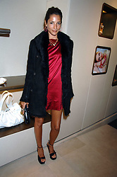 ASTRID MUNOZ at a party at shoe store Sergio Rossi, 207 Sloane Street, London on 4th April 2007.<br /><br />NON EXCLUSIVE - WORLD RIGHTS