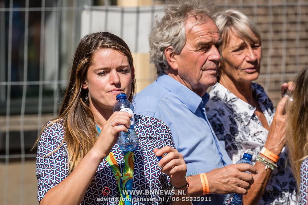 NLD/Den Haag/20160824 - Huldiging sporters Rio 2016, Daphne Schippers