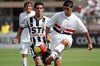 20100125: SAO PAULO, BRAZIL - Sao Paulo FC vs Santos - Sao Paulo Youth Cup 2010 Final. Sao Paulo FC won on the penalty shootout. In picture: Felipe (Sao Paulo, R). PHOTO: CITYFILES