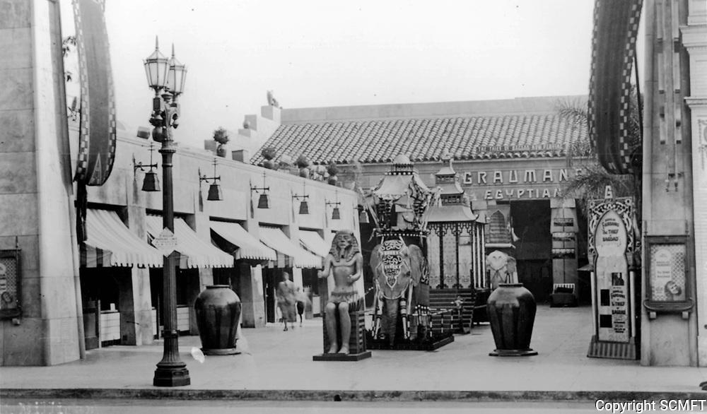 1923 Forecourt of Egyptian Theater