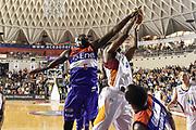 DESCRIZIONE : Campionato 2014/15 Virtus Acea Roma - Enel Brindisi<br /> GIOCATORE : Melvin Ejim Delroy James<br /> CATEGORIA : Tiro Penetrazione Stoppata<br /> SQUADRA : Virtus Acea Roma<br /> EVENTO : LegaBasket Serie A Beko 2014/2015<br /> GARA : Virtus Acea Roma - Enel Brindisi<br /> DATA : 19/04/2015<br /> SPORT : Pallacanestro <br /> AUTORE : Agenzia Ciamillo-Castoria/GiulioCiamillo