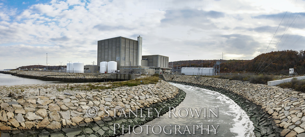 Pilgrim Nuclear Power Plant Panorama