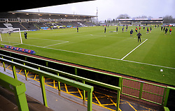General views inside the stadium- Mandatory by-line: Nizaam Jones/JMP - 14/11/2020 - FOOTBALL - innocent New Lawn Stadium - Nailsworth, England - Forest Green Rovers v Mansfield Town - Sky Bet League Two