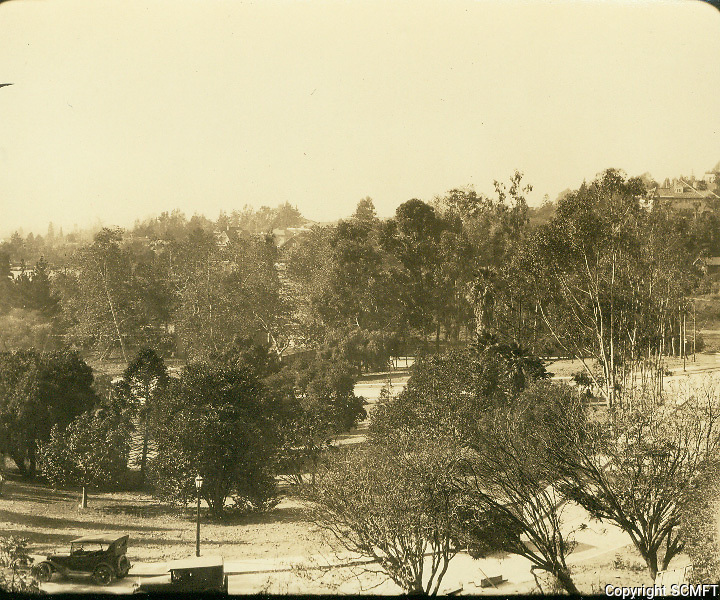1925 Looking SW at Outpost Circle in the Outpost Estates