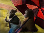 NYC in Colors.  Horn/Andersen<br /> Umbrellas100x130Kr.   12.500,-<br /> Foto: © Lars Horn / Baghuset<br /> Date : 15.07.13
