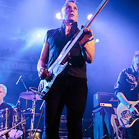 The Membranes open the show at Manchester Academy 2 supporting The Undertones on their 40th Anniversary Tour, 2016-10-29.