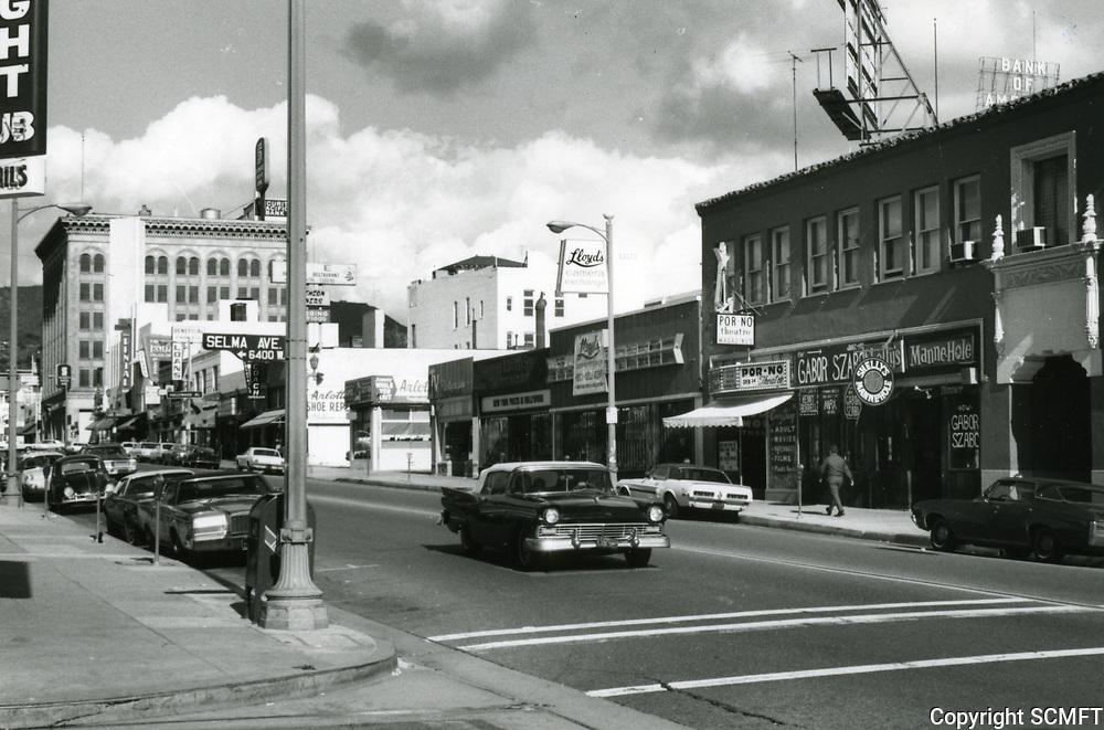 1971 Cahuenga Blvd. & Selma Ave.