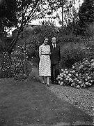 Erskine Childers, minister for Posts and Telegraphs with finance, Miss Rita Dudley<br /> 22/08/1952<br /> <br /> Erskine Hamilton Childers (11/12/1905 – 17/11/1974) served as the fourth President of Ireland from 1973 until his death in 1974.  He was a TD from 1938 until 1973. He was appointed Tánaiste in 1969.<br />His father Robert Erskine Childers, a leading Irish Republican and author of the espionage thriller The Riddle of the Sands, was executed during the Irish Civil War. <br /><br />Childers married Ruth Ellen Dow in 1925. They had five children, Ruth Ellen Childers, born in July 1927, Erskine, born in March 1929, followed by Roderick Winthrop Childers in June 1931, and in November 1937 twin daughters, Carainn and Margaret Osgood Childers. <br />After the death of Dow in 1950, Childers married again, in 1952, to Rita Dudley. Together they had a daughter, Nessa, who is currently a Labour Party MEP. Childers is survived by children from both his marriages. <br />On 17 November 1974, just after making a speech to the Royal College of Physicians in Dublin, Childers suffered a heart attack. He died the same day at Mater Misericordiae University Hospital. Childers's state funeral in St. Patrick's Cathedral, Dublin, was attended by world leaders.<br /><br />Rita Dudley died on 9 May 2010.