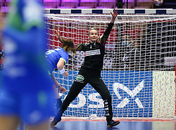 HERNING, DENMARK - DECEMBER 4: Sandra Toft during the EHF Euro 2020 Group A match between Denmark and Slovenia in Jyske Bank Boxen, Herning, Denmark on December 4, 2020. Photo Credit: Allan Jensen/EVENTMEDIA.