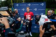 Los Angeles Rams 25-10-2019. Media Day 251019