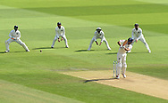 Alastair Cook of England, who is retiring from international cricket at the end of the series, batting during the 3rd day of the 4th SpecSavers International Test Match 2018 match between England and India at the Ageas Bowl, Southampton, United Kingdom on 1 September 2018.
