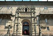 SPAIN, GALICIA, SANTIAGO Hostelry of the Catholic Monarchs