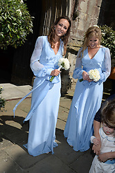 LAVINIA BRENNAN at the wedding of Lady Natasha Rufus Isaacs to Rupert Finch held at St.John The Baptist Church, Cirencester, Gloucestershire, UK on 8th June 2013.