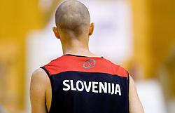 Nebojsa Joksimovic during practice session of Slovenian National Basketball team during training camp for Eurobasket Lithuania 2011, on July 12, 2011, in Arena Vitranc, Kranjska Gora, Slovenia. (Photo by Vid Ponikvar / Sportida)