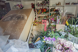 Earthquake in Valnerina. Pictured: Visso, province of Macerata NO WEB *** *** *** NO DAILY