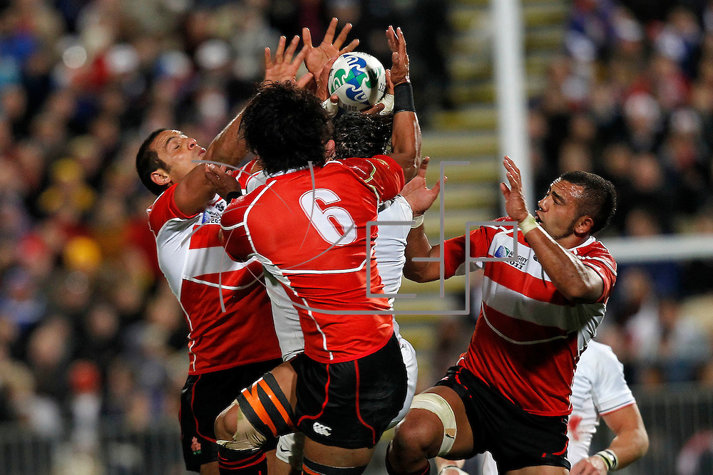 Auckland 10//09/2011 , North Harbour Stadium<br /> Rugby World Cup : France vs Japan