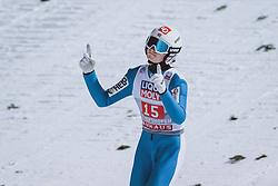 06.01.2021, Paul Außerleitner Schanze, Bischofshofen, AUT, FIS Weltcup Skisprung, Vierschanzentournee, Bischofshofen, Finale, im Bild Marius Lindvik (NOR) // Marius Lindvik of Norway during the final of the Four Hills Tournament of FIS Ski Jumping World Cup at the Paul Außerleitner Schanze in Bischofshofen, Austria on 2021/01/06. EXPA Pictures © 2020, PhotoCredit: EXPA/ JFK