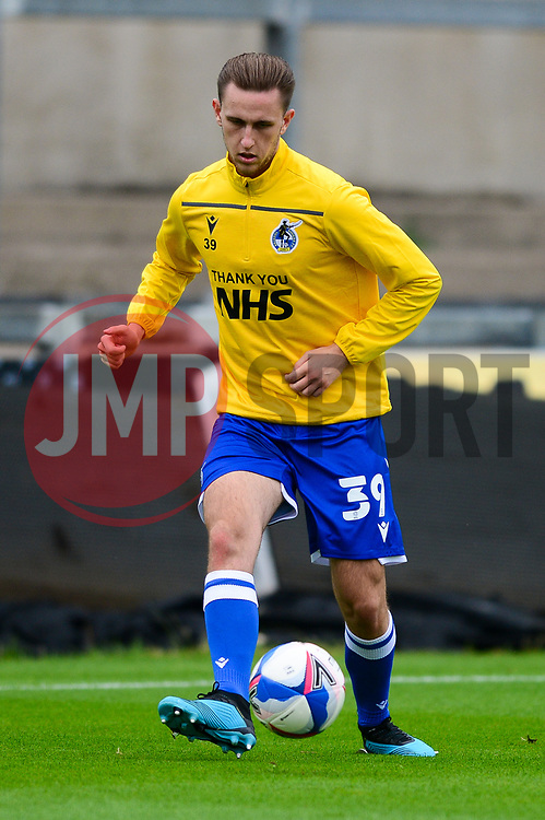 Bristol Rovers warm up before the game - Mandatory by-line: Dougie Allward/JMP - 15/08/2020 - FOOTBALL - Memorial Stadium - Bristol, England - Bristol Rovers v Exeter City - Pre-season friendly