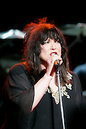 Tribune Photo/SANTIAGO FLORES Ann Wilson of Heart sings on Tuesday evening at the Morris Performing Arts Center.