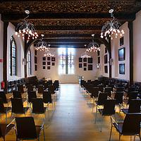 Nederland, Amsterdam ,  25 augustus 2010..Bijzondere plekken op de Universiteit van Amsterdam..Agnietenkapel..Special places at the University of Amsterdam. Chapel of Agnieten.