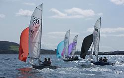 Largs Regatta Festival 2018<br /> <br /> Day 1- RS200 Fleet, downwind<br /> <br /> Images: Marc Turner
