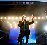 5 Seconds of Summer at Fire Fight Australia at the  ANZ Stadium Sydney Australa 16 Feb 2020 Photo BY Rhiannon Hopley